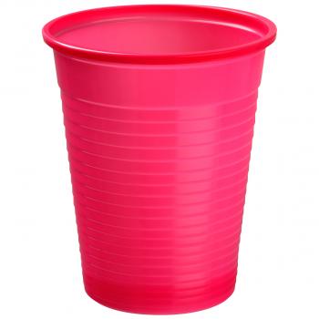 Mundspülbecher für max. 180 ml fuchsia, Pack à 50 Stück