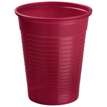 Mundspülbecher für max. 180 ml burgundy, Pack à 50 Stück