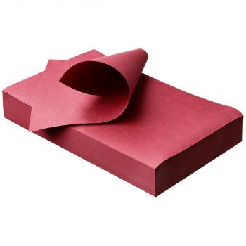 Unterlage für sterilisierte Geräte, Coco Color, 18x28cm, burgundy, Traypapier, 55g/m2, Pack zu 250 Stück