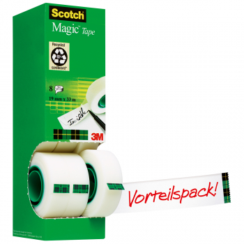 Scotch Magic™ Tape 19 mm x 33 m, 8 Rollen