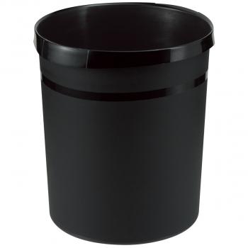 Han Papierkorb 18 Liter, schwarz