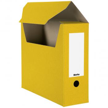 Biella Archivschachteln, gelb, Pack à 10 Stück