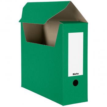 Biella Archivschachteln, grün, Pack à 10 Stück