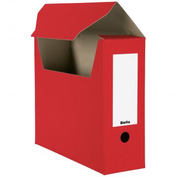 Biella Archivschachteln, rot, Pack à 10 Stück