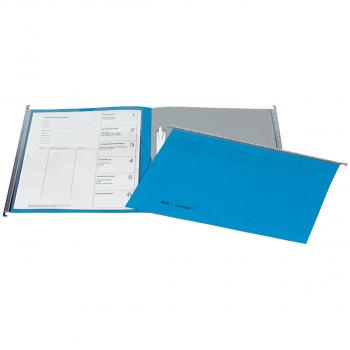 Biella Original Registerhängemappen inkl. Zubehör, blau, Pack à 10 Stück