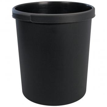 Han Papierkorb 30 Liter, schwarz
