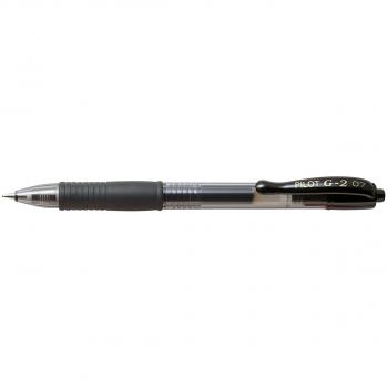 PILOT Gelschreiber G-2 0.4 mm, Schreibfarbe schwarz