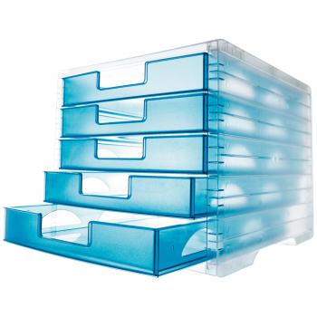 styro Schubladenbox lightbox, lagoon