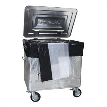 Containerbeutel 800 Liter, transparent, Pack à 50 Stück