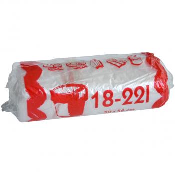 Sachets poubelle 18 - 22 litres, rouleau de 40 pièces