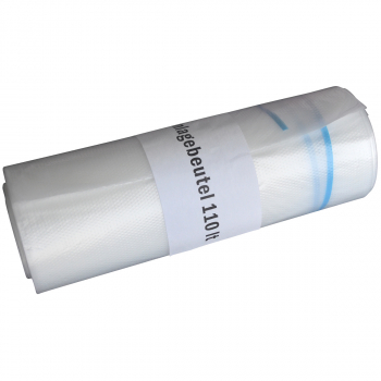 Rolle à 10 Kehrichtsäcke ohne OKS-Signet 110 Liter, transparent