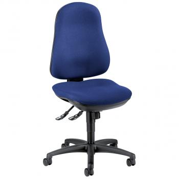 Bürodrehstuhl Comfort, blau
