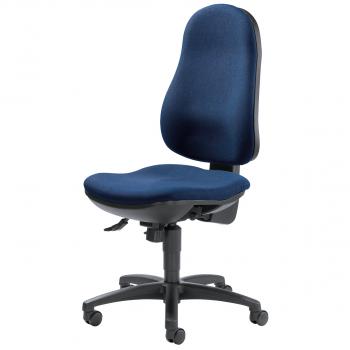 Bürodrehstuhl Comfort, dunkelblau