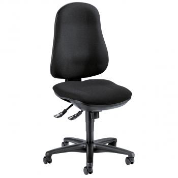 Bürodrehstuhl SITNESS 40 mit Armlehnen, schwarz