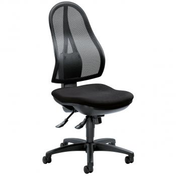 Bürodrehstuhl Comfort NET, schwarz