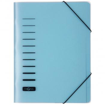 Pagna Ordnungsmappe 6-teilig, blau