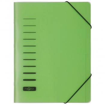 Pagna Ordnungsmappe 6-teilig, grün