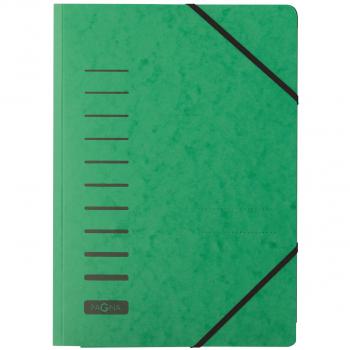 Pagna Gummibandmappe, grün
