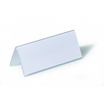 Durable Tischnamensschild/Dachaufsteller 15 x 6.3 cm