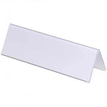 Durable Tischnamensschild/Dachaufsteller 21 x 6.1 cm