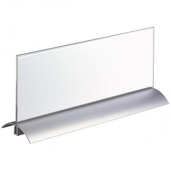 Durable Tischnamensschild mit Fuss 29.7 x 10.5 cm