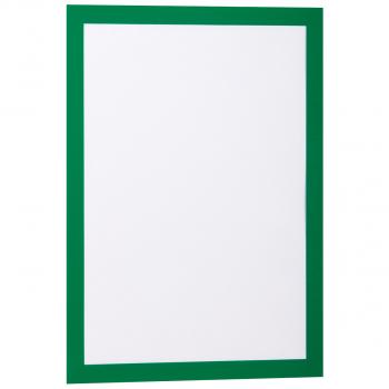 2 Durable Informationsrahmen DURAFRAME®, grün