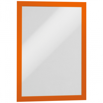 2 Durable Informationsrahmen DURAFRAME®, orange