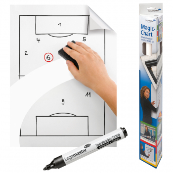 Legamaster Magic-Chart Whiteboard weiss, 60 x 80 cm