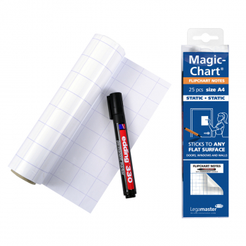 Legamaster Magic-Chart Flipchart weiss, 20 x 30 cm