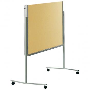 Legamaster Moderationswand filzbespannt, beige, 120 x 150 cm