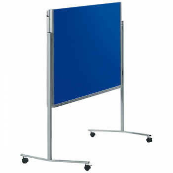 Legamaster Moderationswand filzbespannt, marineblau, 120 x 150 cm