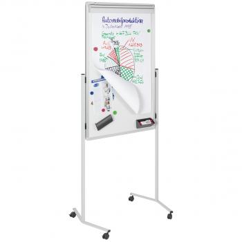Legamaster Multiboard weiss/grau, 85 x 195 cm, 76 x 120 cm