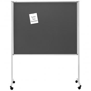 Legamaster Multiboard schwarz, 126 x 195 cm, 120 x 150 cm