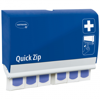 Hartmann Pflasterspender Quick Zip elastic, blau