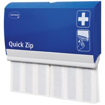 Hartmann Pflasterspender Quick Zip detectable blau