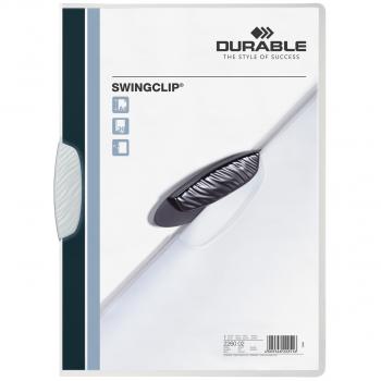 Durable Klemmhefter Swingclip, weiss
