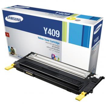 Samsung Toner-Kartusche Kartonage gelb (CLT-Y4092S, Y4092)