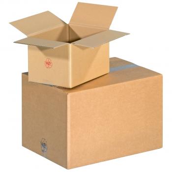 Lager-/Versandkartons 2-wellig, Typ 0201 für Klebeverschluss, 580 x 480 x 360 mm, 20 Stück