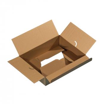 Euro-Modul-Standartkartons, 1-wellig, 284x184x167 mm, Pack à 15 Stück