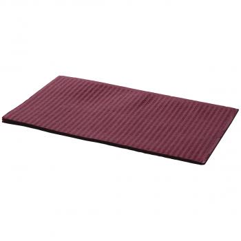 Patientenservietten 33 x 45 cm, burgundy, Pack à 50 Stück
