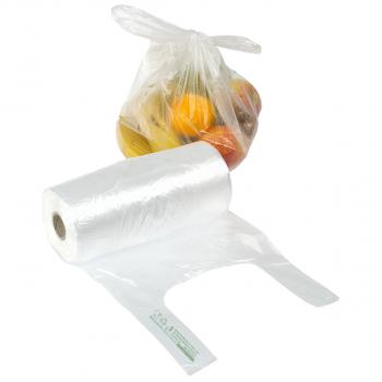 Knotenbeutel transparent, 22 x 10 x 50 cm, Karton à 6 Rollen