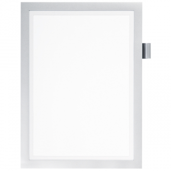 Durable Informationsrahmen DURAFRAME® NOTE, silber