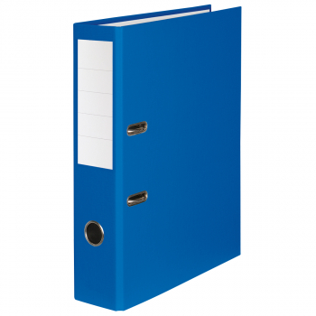Color-Ordner mit 7 cm Rückenbreite, blau