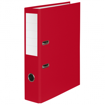 Color-Ordner mit 7 cm Rückenbreite, rot
