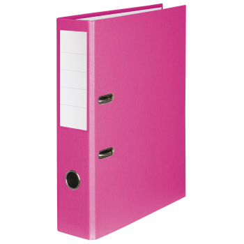 Color-Ordner mit 7 cm Rückenbreite, rosa