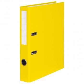 Color-Ordner mit 4 cm Rückenbreite, gelb