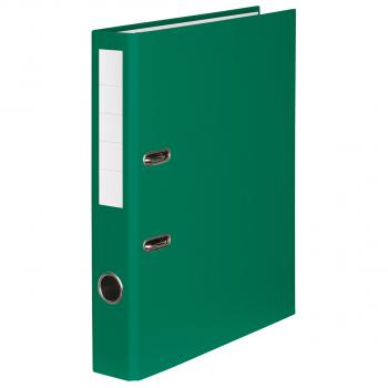 Color-Ordner mit 4 cm Rückenbreite, grün