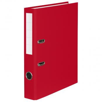 Color-Ordner mit 4 cm Rückenbreite, rot