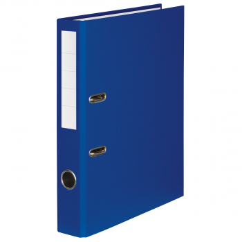 Color-Ordner mit 4 cm Rückenbreite, dunkelblau