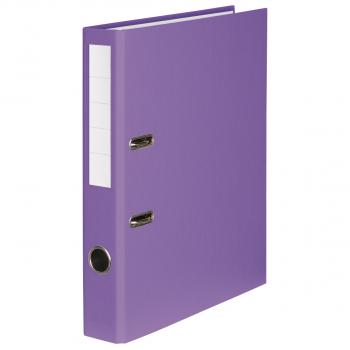 Color-Ordner mit 4 cm Rückenbreite, violett
